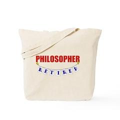 Retired Philosopher Tote Bag