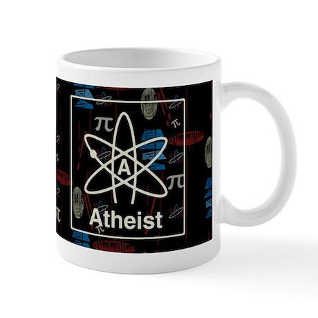 ATHEIST RETRO DARK Mug