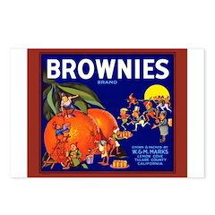 Brownies Brand Postcards (Package of 8)