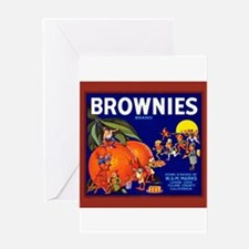 Brownies Brand Greeting Card