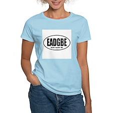 EADGBE  Women's Pink T-Shirt