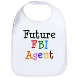 Fbi Cotton Bibs