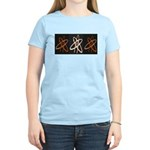 ATHEIST ORANGE Women's Light T-Shirt
