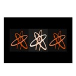 ATHEIST ORANGE Postcards (Package of 8)