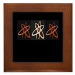 ATHEIST ORANGE Framed Tile