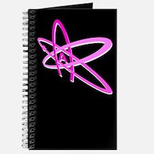 ATHEIST SYMBOL PINK DARK Journal