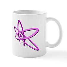 ATHEIST SYMBOL IN PINK Mug