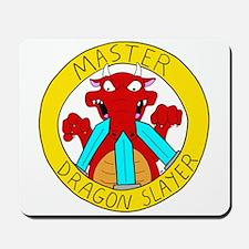 Master Dragon Slayer Mousepad