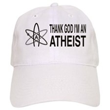 THANK GOD I'M ATHEIST Baseball Cap