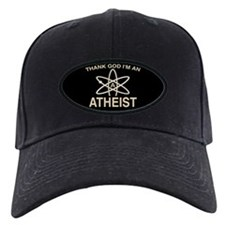 THANK GOD I'M ATHEIST Baseball Hat