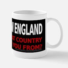 I'm From New England Mug