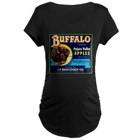 Buffalo Pajaro Maternity Dark T-Shirt