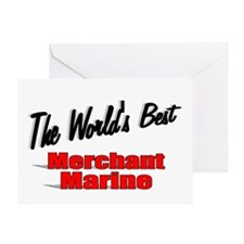 """The World's Best Merchant Marine"" Greeting Card"