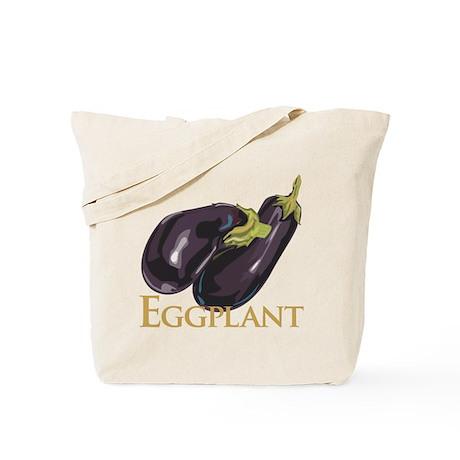 Eggplant/Aubergine Tote Bag