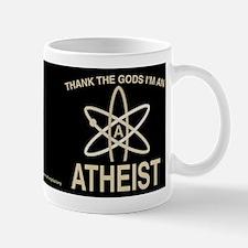 THANK GODS ATHEIST DARK Mug