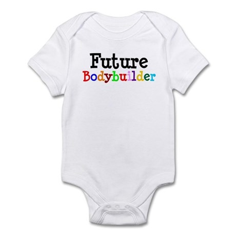 Bodybuilder Infant Bodysuit
