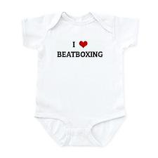 I Love BEATBOXING Infant Bodysuit