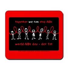 We Can STOP AIDs... Mousepad