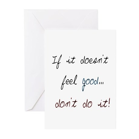 Don't Do It Greeting Cards (Pk of 10)