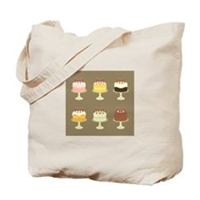 Cake Card Tote Bag