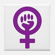 Femifist Tile Coaster
