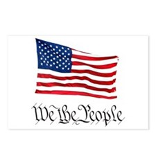 W.T.P. W/Flag Postcards (Package of 8)