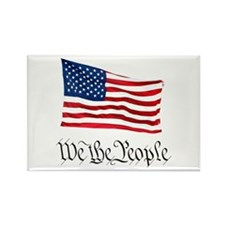 W.T.P. W/Flag Rectangle Magnet
