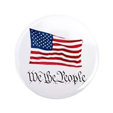 "W.T.P. W/Flag 3.5"" Button (100 pack)"