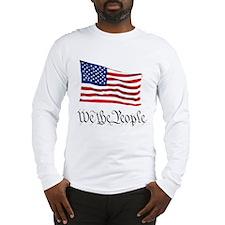 W.T.P. W/Flag Long Sleeve T-Shirt