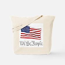 W.T.P. W/Flag Tote Bag