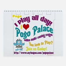 POGO PALACE Wall Calendar