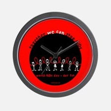 We Can STOP AIDs... Wall Clock
