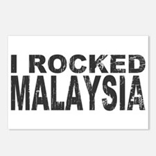 I Rocked Malaysia Postcards (Package of 8)