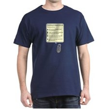 Clippy Lesbian Assistant Dark T-Shirt