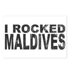 I Rocked Maldives Postcards (Package of 8)