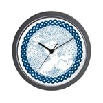 Celtic Mother Moon Design Wall Clock