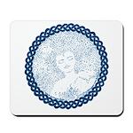 Celtic Mother Moon Design Mousepad
