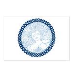 Celtic Mother Moon Design Postcards (Package of 8)