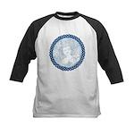 Celtic Mother Moon Design Kids Baseball Jersey