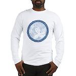 Celtic Mother Moon Design Long Sleeve T-Shirt