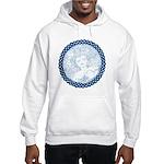 Celtic Mother Moon Design Hooded Sweatshirt