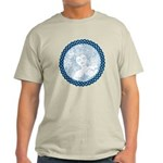 Celtic Mother Moon Design Light T-Shirt