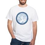 Celtic Mother Moon Design White T-Shirt