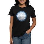 Celtic Mother Moon Design Women's Dark T-Shirt