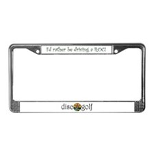Cool Church License Plate Frame