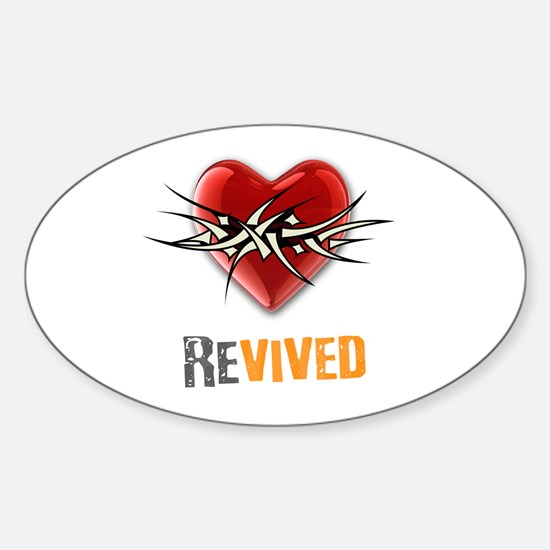 Revived Oval Decal