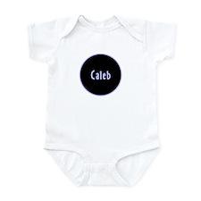 Caleb - Blue Name Circle Infant Bodysuit