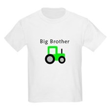 Big Brother - Lime Tractor T-Shirt