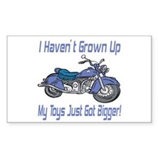 Motorcycle Toys Rectangle Decal