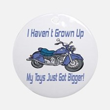 Motorcycle Toys Ornament (Round)